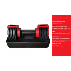 Mancuerna Ajustable 11 KG Dumbbell 11AX BodyTrainer